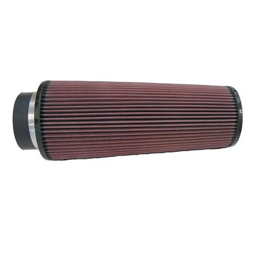 K&N RE-0880 Performance Air Filters, 14in Tall, Round Tapered