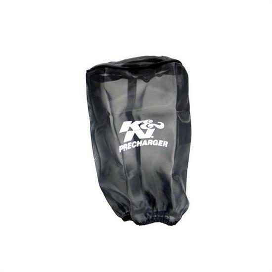 K&N RE-0910PK PreCharger Air Filter Wrap, 8in Tall, Black