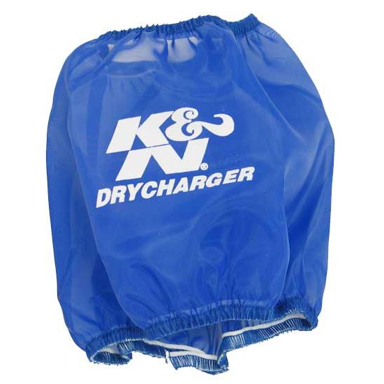 K&N RF-1001DL DryCharger Air Filter Wrap, 5in Tall, Blue