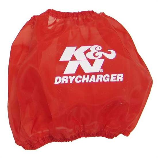 K&N RF-1001DR DryCharger Air Filter Wrap, 5in Tall, Red