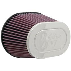 K&N RF-1001 Air Filter, 5in Tall, Oval Straight