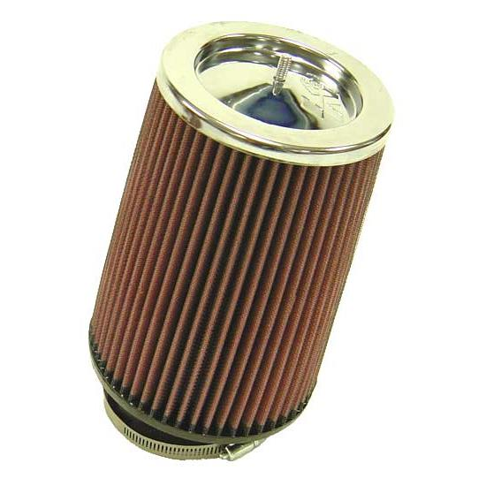 K&N RF-1003 Air Filter, 8in Tall, Round Tapered