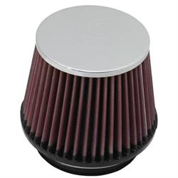 K&N RF-1005 Air Filter, 4.5in Tall, Round Tapered