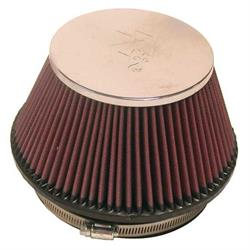 K&N RF-1009 Air Filter, 4in Tall, Round Tapered