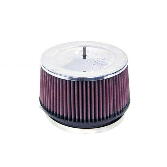 K&N RF-1010 Air Filter, 4in Tall, Round Tapered