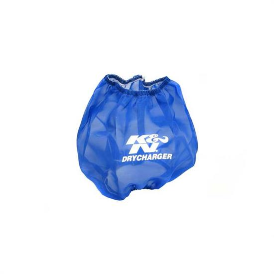 K&N RF-1014DL DryCharger Air Filter Wrap, 6.5in Tall, Blue