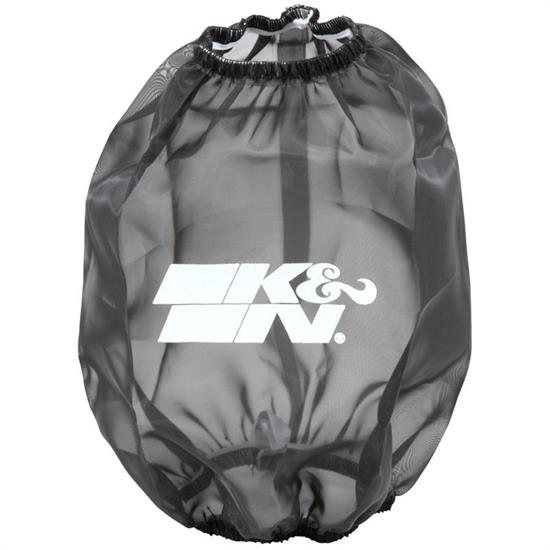 K&N RF-1015DK DryCharger Air Filter Wrap, 7in Tall, Black