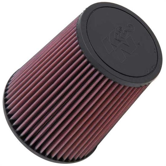 K&N RF-1015 Air Filter, 7in Tall, Round Tapered