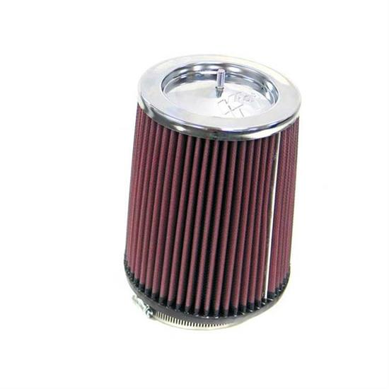 K&N RF-1016 Air Filter, 7in Tall, Round Tapered