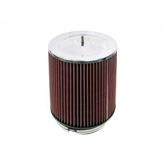 K&N RF-1017 Air Filter, 8in Tall, Round Tapered