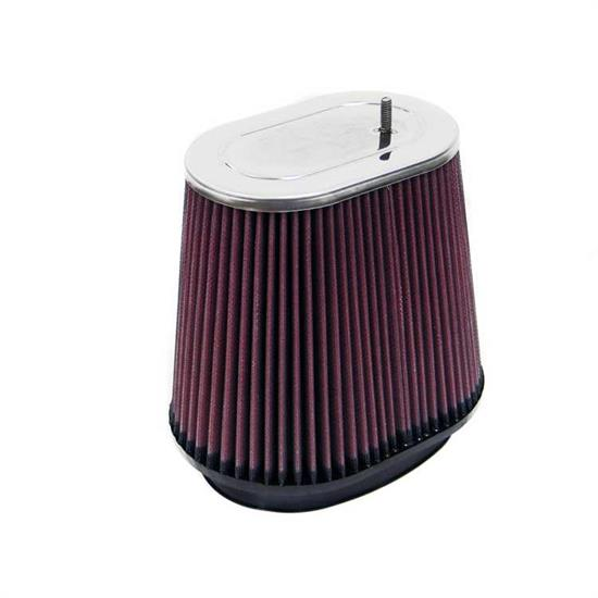 K&N RF-1019 Air Filter, 6.75in Tall, Oval Straight