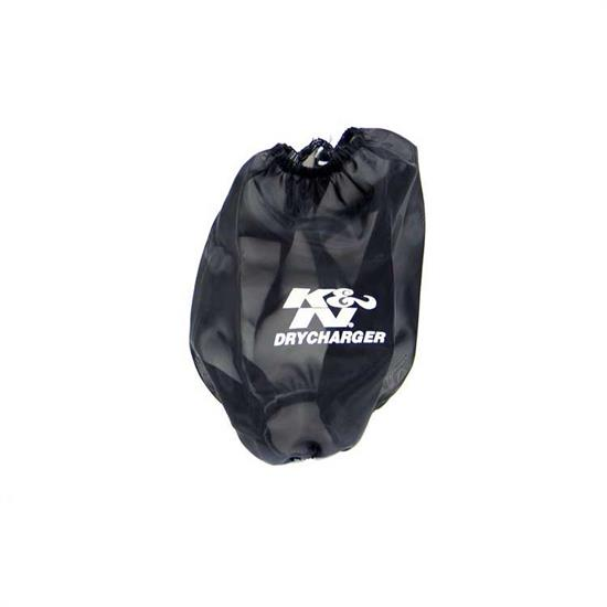 K&N RF-1020DK DryCharger Air Filter Wrap, 8in Tall, Black