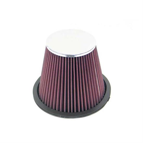 K&N RF-1022 Air Filter, 6in Tall, Round Tapered