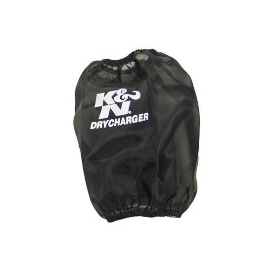 K&N RF-1023DK DryCharger Air Filter Wrap, 6in Tall, Black
