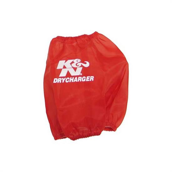 K&N RF-1023DR DryCharger Air Filter Wrap, 6in Tall, Red