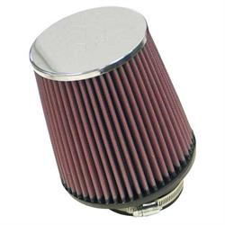 K&N RF-1023 Air Filter, 6in Tall, Round Tapered
