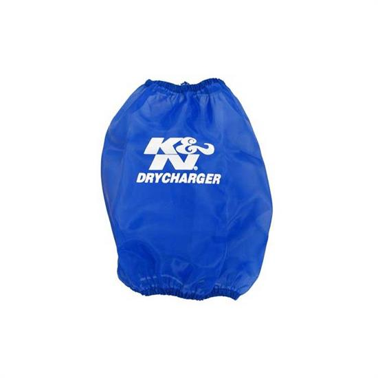 K&N RF-1024DL DryCharger Air Filter Wrap, 10in Tall, Blue