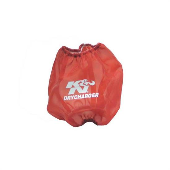 K&N RF-1024DR DryCharger Air Filter Wrap, 10in Tall, Red