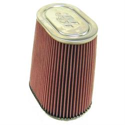 K&N RF-1024 Air Filter, 10in Tall, Oval Straight