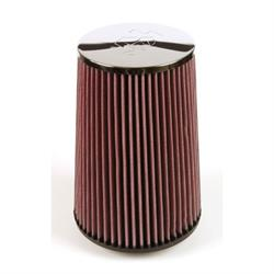 K&N RF-1025 Air Filter, 8in Tall, Round Tapered