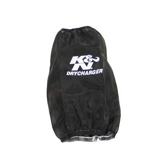 K&N RF-1026DK DryCharger Air Filter Wrap, 11in Tall, Black