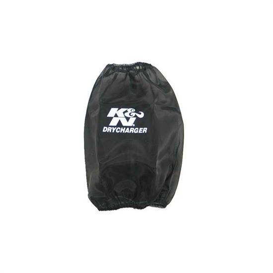 K&N RF-1027DK DryCharger Air Filter Wrap, 8in Tall, Black