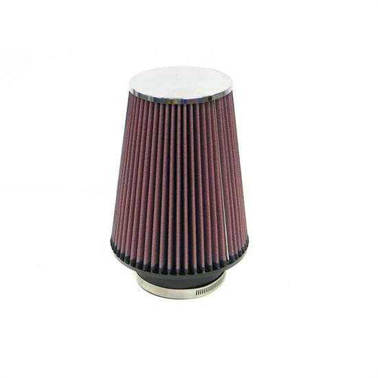K&N RF-1027 Air Filter, 8in Tall, Round Tapered