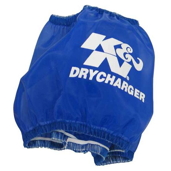 K&N RF-1028DL DryCharger Air Filter Wrap, 3in Tall, Blue