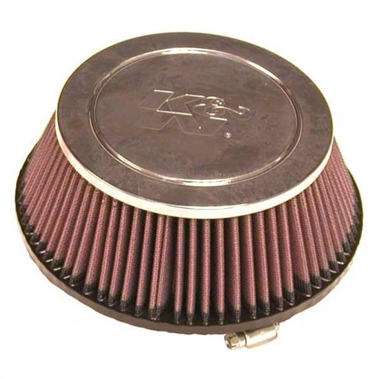 K&N RF-1028 Air Filter, 3in Tall, Round Tapered