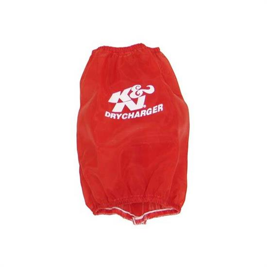 K&N RF-1029DR DryCharger Air Filter Wrap, 7in Tall, Red