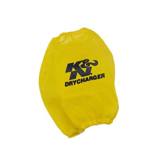 K&N RF-1029DY DryCharger Air Filter Wrap, 7in Tall, Yellow
