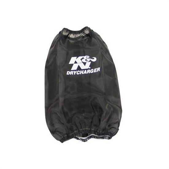 K&N RF-1032DK DryCharger Air Filter Wrap, 7in Tall, Black