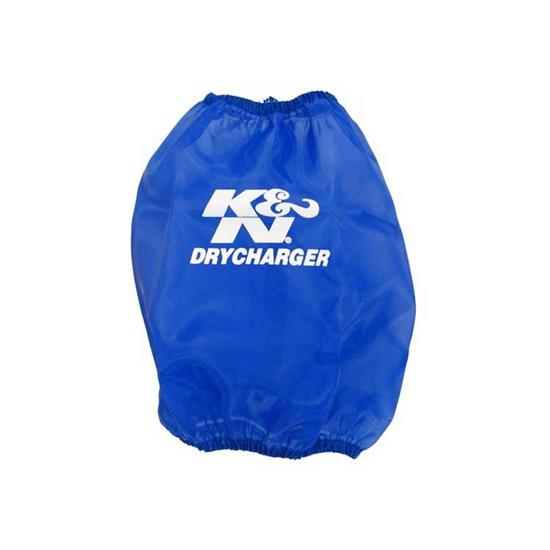 K&N RF-1032DL DryCharger Air Filter Wrap, 7in Tall, Blue