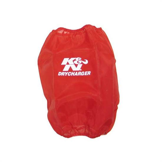 K&N RF-1032DR DryCharger Air Filter Wrap, 7in Tall, Red