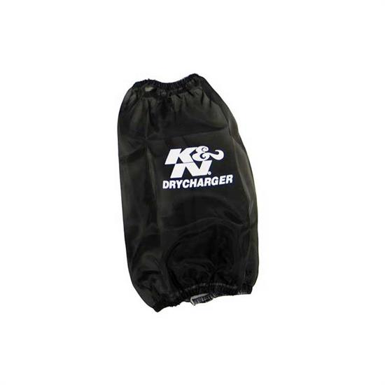 K&N RF-1034DK DryCharger Air Filter Wrap, 7.5in Tall, Black