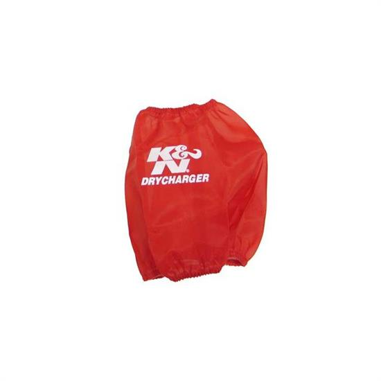 K&N RF-1034DR DryCharger Air Filter Wrap, 7.5in Tall, Red