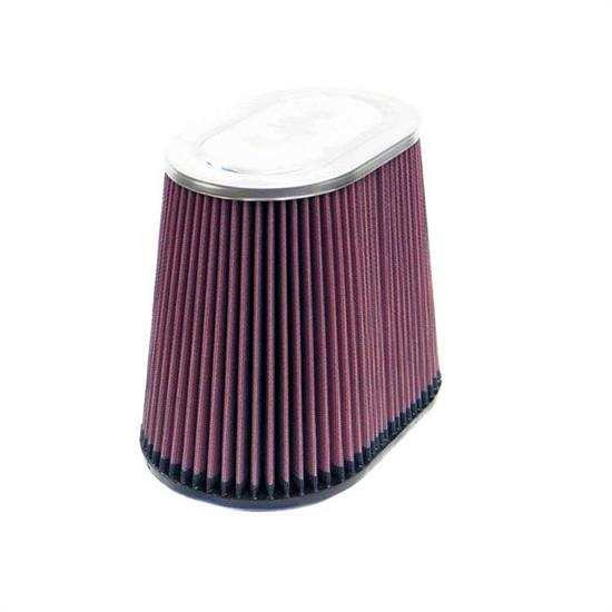 K&N RF-1034 Air Filter, 7.5in Tall, Oval Straight