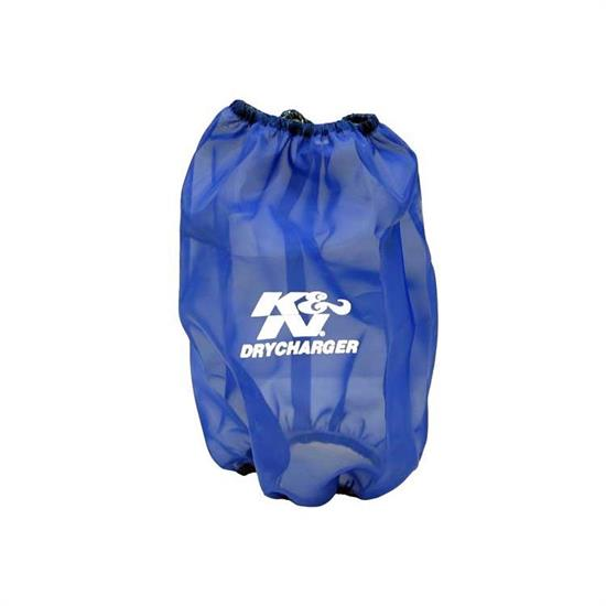 K&N RF-1035DL DryCharger Air Filter Wrap, 6in Tall, Blue