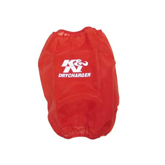 K&N RF-1035DR DryCharger Air Filter Wrap, 6in Tall, Red