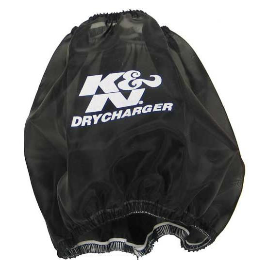 K&N RF-1036DK DryCharger Air Filter Wrap, 6in Tall, Black
