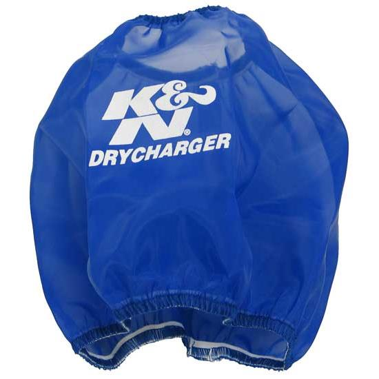 K&N RF-1036DL DryCharger Air Filter Wrap, 6in Tall, Blue