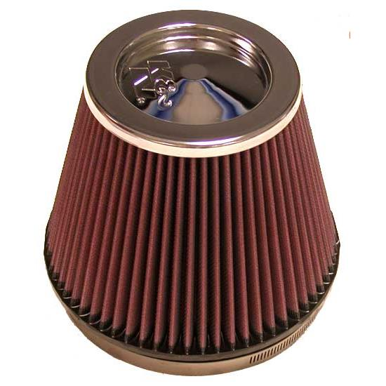 K&N RF-1036 Performance Air Filters, 6in Tall, Round Tapered