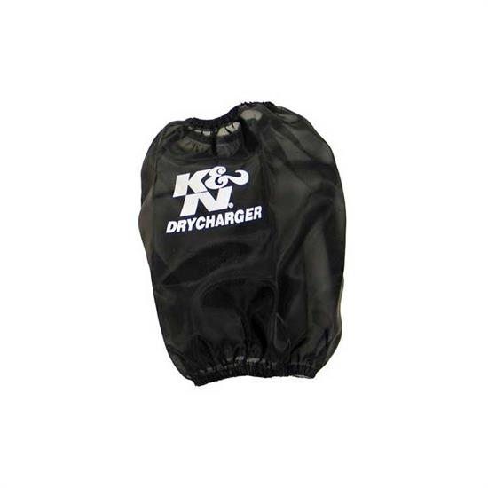K&N RF-1037DK DryCharger Air Filter Wrap, 6.5in Tall, Black
