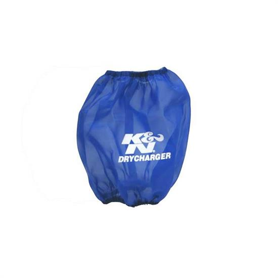 K&N RF-1037DL DryCharger Air Filter Wrap, 6.5in Tall, Blue