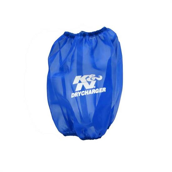 K&N RF-1041DL DryCharger Air Filter Wrap, 7.5in Tall, Blue