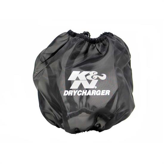K&N RF-1042DK DryCharger Air Filter Wrap, 6.5in Tall, Black