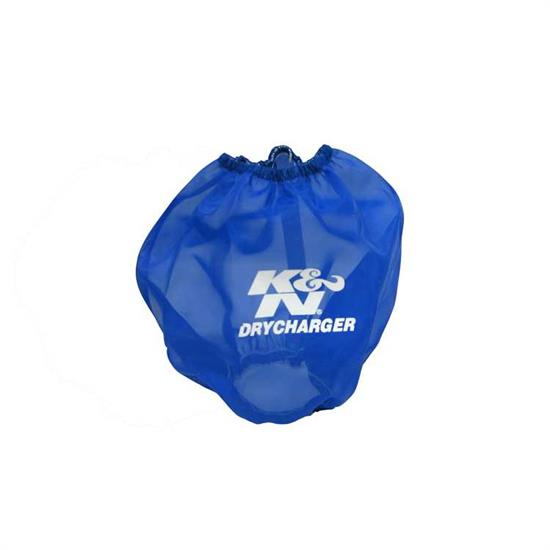 K&N RF-1042DL DryCharger Air Filter Wrap, 6.5in Tall, Blue
