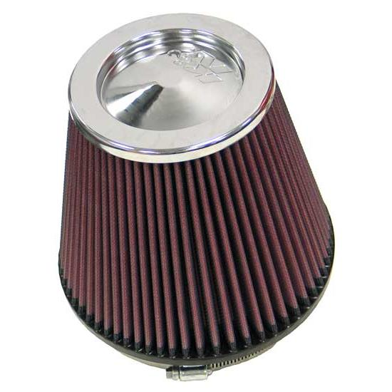 K&N RF-1042 Performance Air Filters, 6.5in Tall, Round Tapered