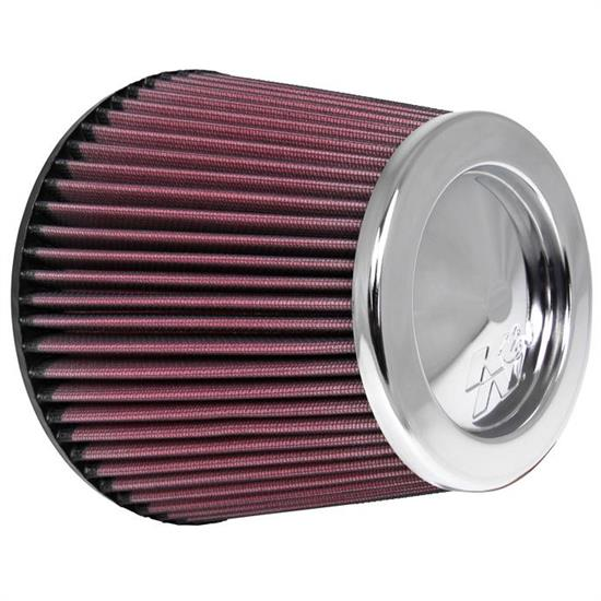 K&N RF-1043 Performance Air Filters, 6in Tall, Round Tapered