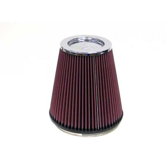 K&N RF-1044 Air Filter, 8in Tall, Round Tapered